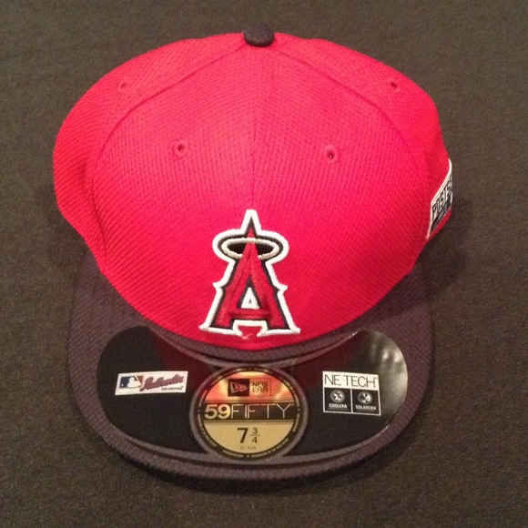 2f59907443e Anaheim Angels 2014 Postseason New Era Fitted Hat